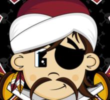 Turban Pirate Pattern Sticker