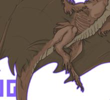 Smaug -UPDATED- Sticker