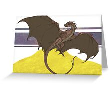 Smaug -UPDATED- Greeting Card