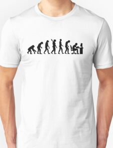 Evolution computer office T-Shirt