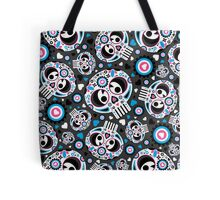 Mexican 'Day of the Dead' Pattern Tote Bag