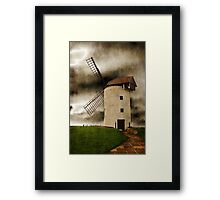 Storm in the Sails Framed Print