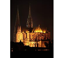 Chartres Cathedral, France Photographic Print