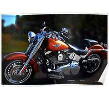 FAT BOY - Harley Ride Day Poster