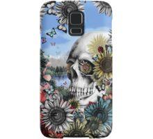 Nature skull landscape Samsung Galaxy Case/Skin