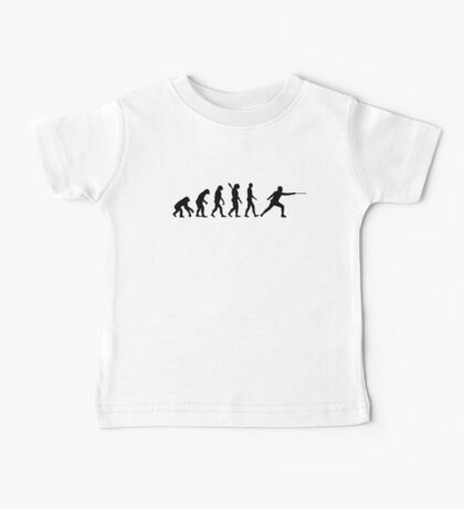 Evolution Fencing Baby Tee