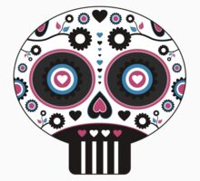 Mexican 'Day of the Dead' Skull Pattern Kids Clothes