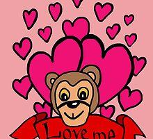 monkey love by Logan81