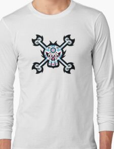Mexican 'Day of the Dead' Skull Long Sleeve T-Shirt