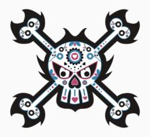 Mexican 'Day of the Dead' Skull One Piece - Short Sleeve