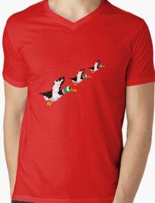 8-Bit Nintendo Duck Hunt 'Trio' Mens V-Neck T-Shirt