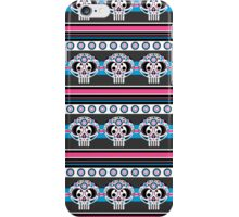 Mexican 'Day of the Dead' Skull Stripe iPhone Case/Skin