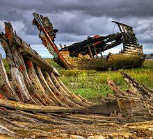 Fleetwood Marsh Wreck by FyldePhotos
