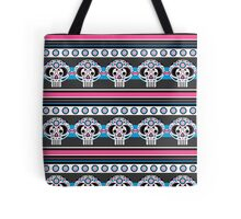 Mexican 'Day of the Dead' Skull Stripe Tote Bag