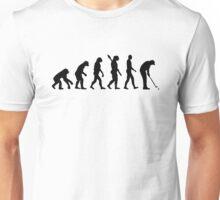Golf evolution Unisex T-Shirt