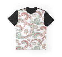 Paisley Surprise Graphic T-Shirt