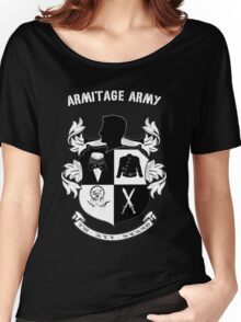 Armitage Army CoA -txt- dark Tee Women's Relaxed Fit T-Shirt