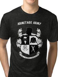 Armitage Army CoA -txt- dark Tee Tri-blend T-Shirt