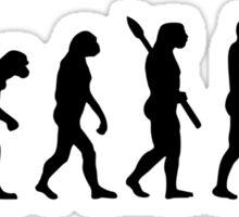 Evolution Gymnastics woman girl Sticker