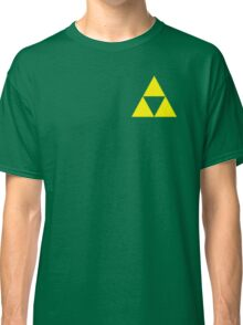 Triforce Badge Yellow Low Cost HQ Classic T-Shirt