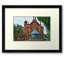 The Haunted Mansion Framed Print