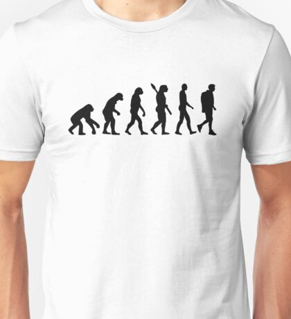 Evolution Hiking trekking Unisex T-Shirt