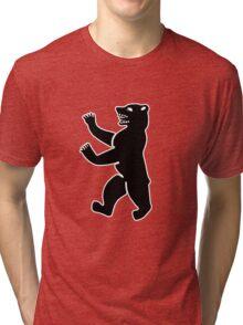 berliner bear berlin Bär ours Tri-blend T-Shirt