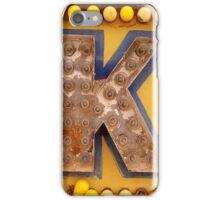 K. iPhone Case/Skin