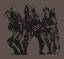 Ghostbusters Film Poster Silhouette Kids Clothes
