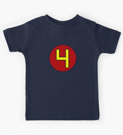 That's a pretty excellent number 4 Kids Tee