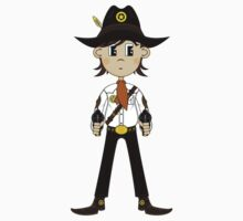 Cute Cowboy Pattern Kids Clothes