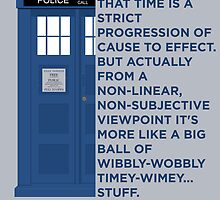Timey Wimey - Doctor Who by tetyline