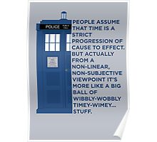 Timey Wimey - Doctor Who Poster