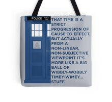 Timey Wimey - Doctor Who Tote Bag