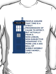 Timey Wimey - Doctor Who T-Shirt