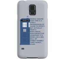 Timey Wimey - Doctor Who Samsung Galaxy Case/Skin