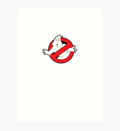 Original Ghostbusters Logo (in colour) Art Print
