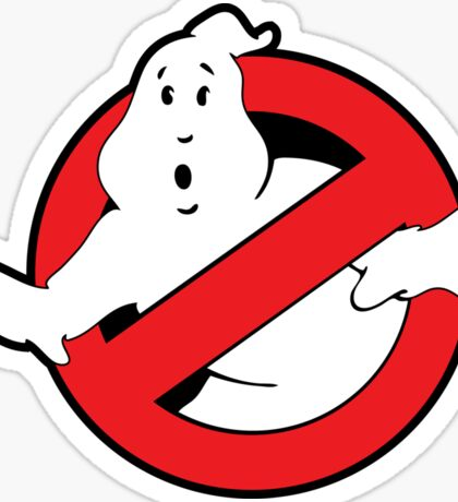 Original Ghostbusters Logo (in colour) Sticker