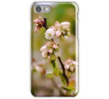 Blueberry flowers iPhone Case/Skin