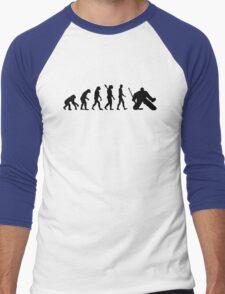 Evolution Goalie Hockey Men's Baseball ¾ T-Shirt