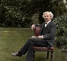 Mark Twain by Mads Madsen