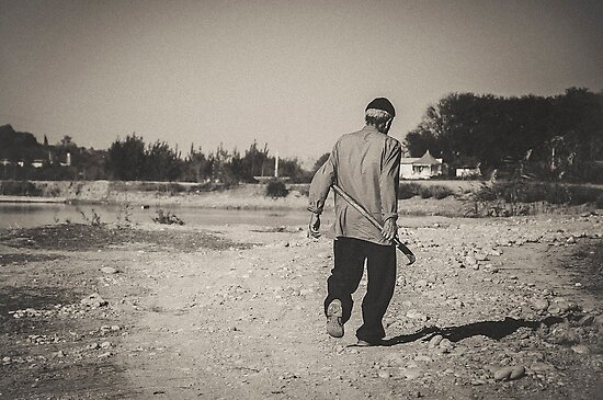 On His Way Home by Katayoonphotos