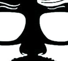 Heisenberg face Silouhette Shadow Sticker