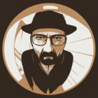 Heisenberg face Silouhette Shadow by KudoSai