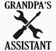Grandpa's Assistant Kids Tee