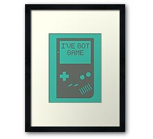 I've got game, Boy Framed Print