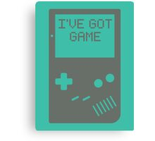 I've got game, Boy Canvas Print