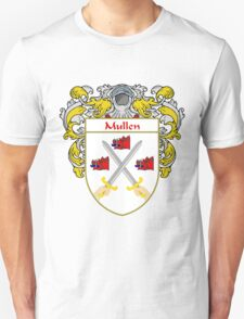 Mullen Coat of Arms/Family Crest T-Shirt