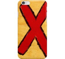 X. iPhone Case/Skin