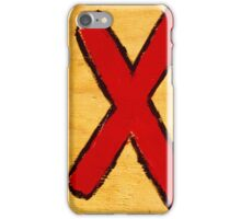 X. iPhone Case/Skin